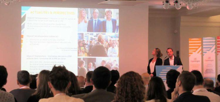 STEPSol start-up choisie pour illustrer l'accompagnement de CAPENERGIES lors de leur AG