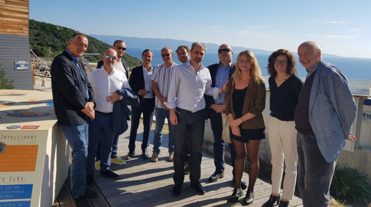 Visite d'INIZIA sur le banc d'essais de Vignola