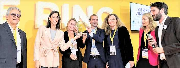STEPSol receives the 2nd prize of the Innovation Showcase – POLLUTEC 2018